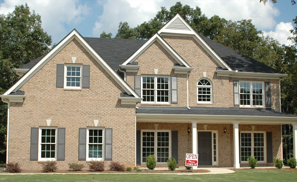 front view of the house in Spartanburg